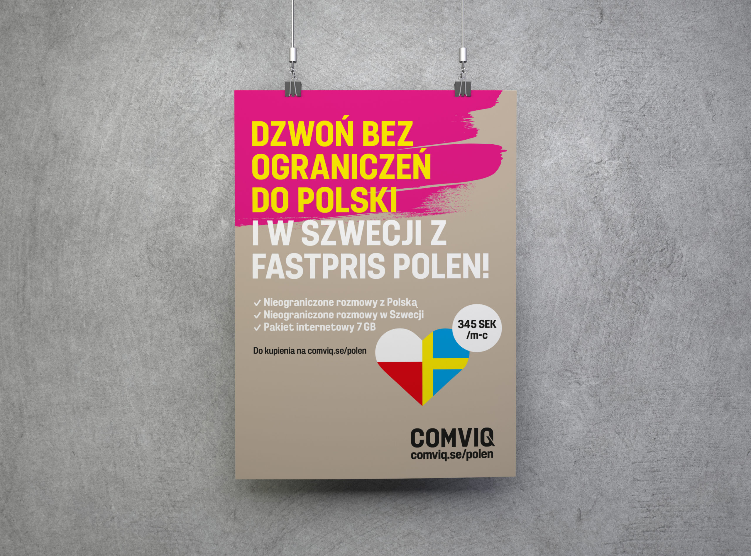 Comviq Fastpris Polen